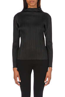 PLEATS PLEASE ISSEY MIYAKE Turtleneck pleated top