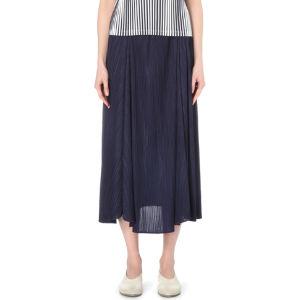 Dancing flower pleated skirt