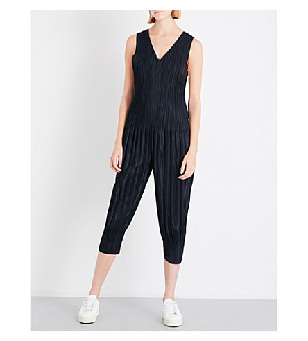 PLEATS PLEASE ISSEY MIYAKE Fluffy Basic pleated top (Black