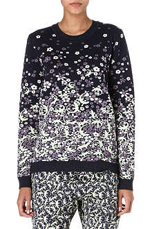 MULBERRY Lizard floral jumper