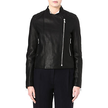 MULBERRY Biker leather jacket (Black