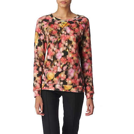 MULBERRY Blurry Blossom sweatshirt (Multi