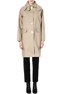 MULBERRY Hooded mac coat