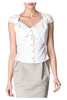 VIVIENNE WESTWOOD Draped-front top