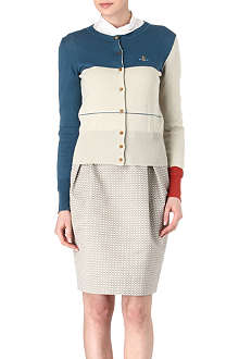 VIVIENNE WESTWOOD Colour block cardigan