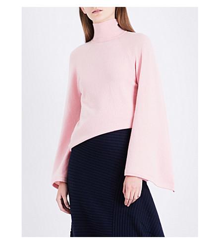 PRINGLE OF SCOTLAND Turtleneck cashmere jumper (Soft+pink