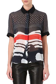 PREEN Piper printed shirt
