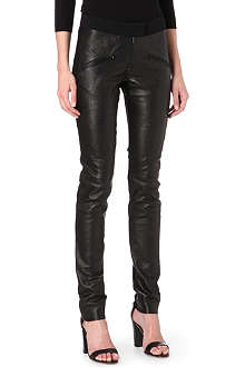 PREEN Drea leather trousers