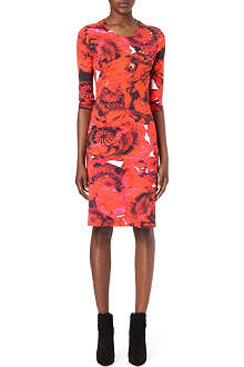 PREEN Dita floral-print dress