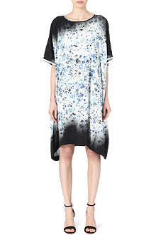 PREEN Floral-print satin dress