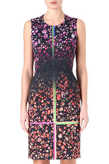 PREEN Printed satin dress