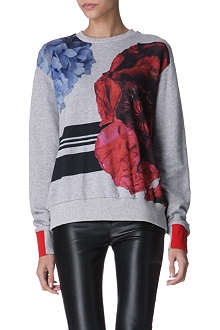 PREEN Poppy stripe sweatshirt