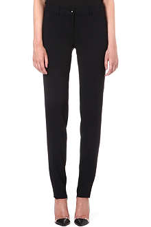 ETRO Straight stretch-cupro trousers