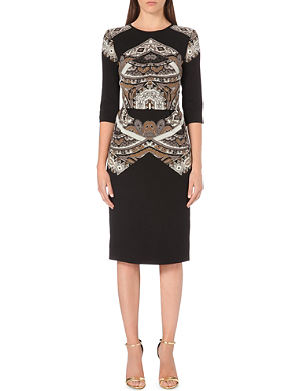 ETRO Paisley-print wool dress