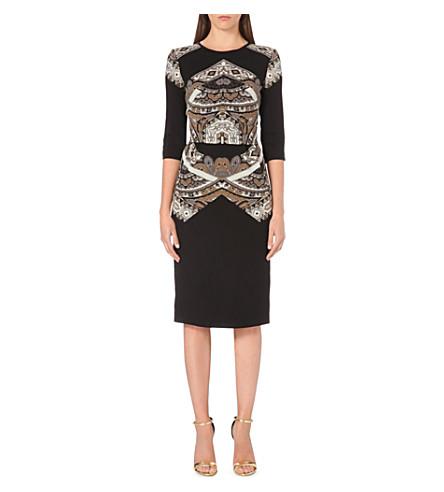 ETRO Paisley-print wool dress (Multi