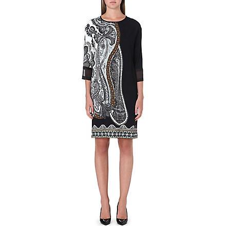 ETRO Paisley-print silk dress (Multi