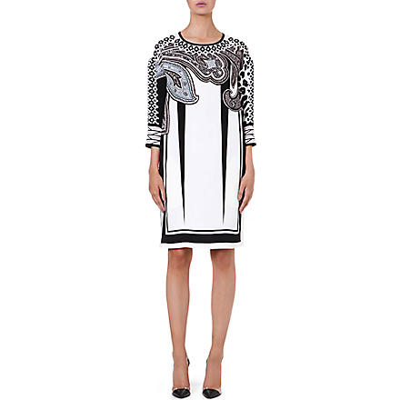 ETRO Printed silk dress (Multi