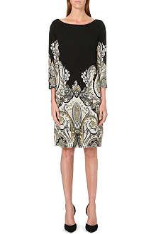 ETRO Paisley-print jersey dress