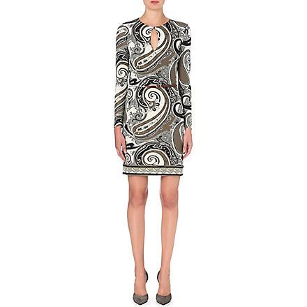 ETRO Paisley-print jersey dress (Multi