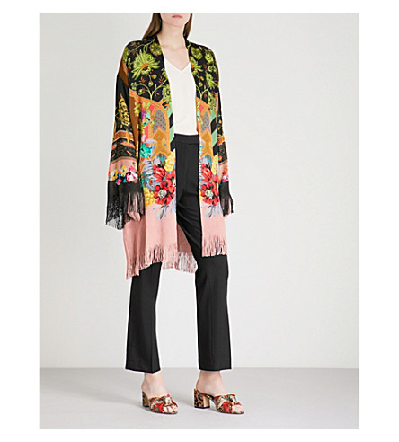 ETRO Floral knitted cardigan (Multi
