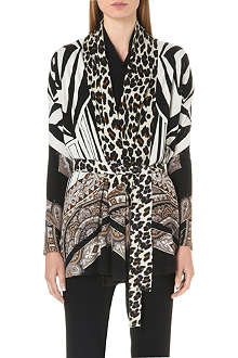 ETRO Lightweight silk and cashmere-blend cardigan