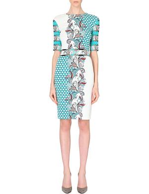 ETRO Paisley-detail jersey dress