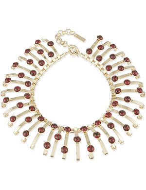 ETRO Jewelled collar necklace