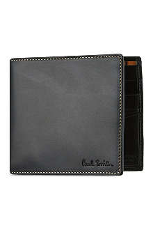 PAUL SMITH ACCESSORIES Leather billfold wallet