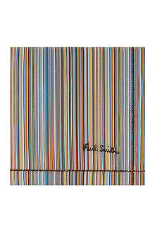 PAUL SMITH ACCESSORIES Multi-stripe handkerchief