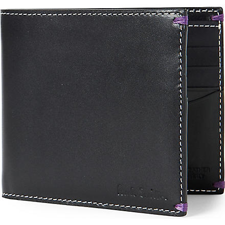 PAUL SMITH Naked Lady billfold wallet (Black