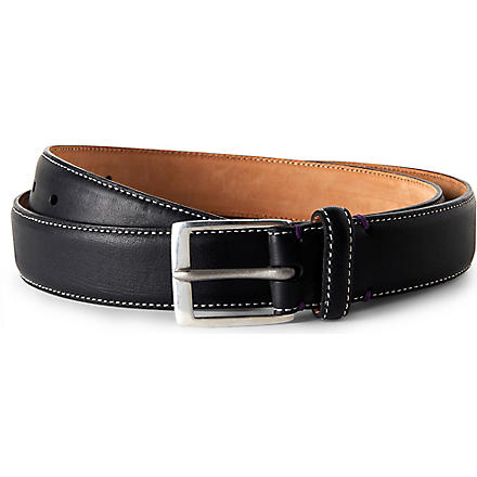PAUL SMITH Naked Lady belt (Black