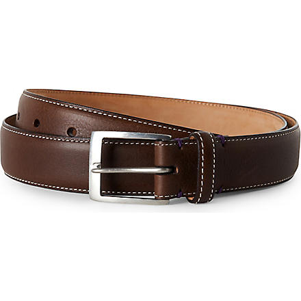PAUL SMITH ACCESSORIES Naked Lady belt (Chocolate