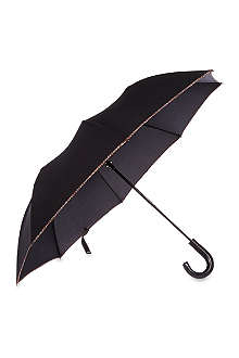 PAUL SMITH ACCESSORIES Multi-striped trim umbrella