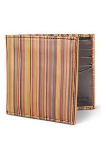 PAUL SMITH Vintage striped billfold wallet