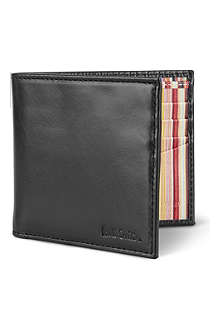 PAUL SMITH Interior multi-striped billfold wallet