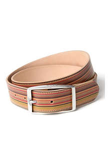 PAUL SMITH Vintage multi-striped belt