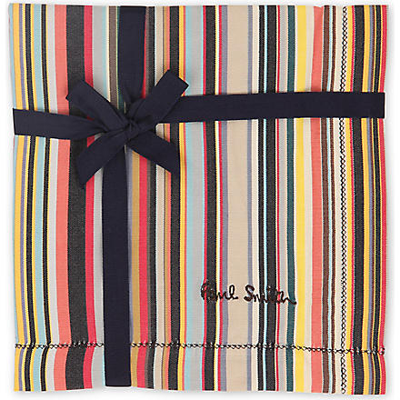 PAUL SMITH Multi-striped handkerchief (Multi