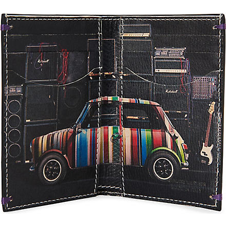 PAUL SMITH ACCESSORIES Mini with Speakers card wallet (Black