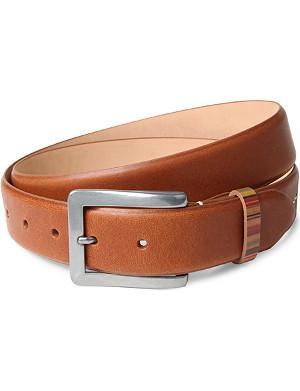 PAUL SMITH ACCESSORIES Vintage multi-striped keeper belt