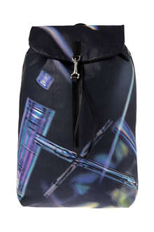PAUL SMITH ACCESSORIES Printed leather backpack