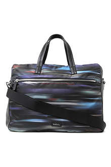 PAUL SMITH ACCESSORIES Printed folio bag