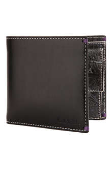 PAUL SMITH ACCESSORIES London Panorama coin wallet