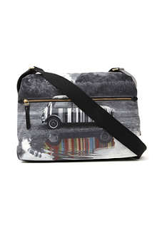 PAUL SMITH ACCESSORIES Mini Puddle Reflection flight bag