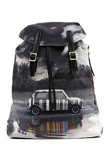 PAUL SMITH ACCESSORIES Mini Puddle Reflection backpack