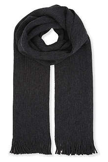 PAUL SMITH Plain wool scarf