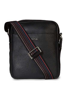 PAUL SMITH City Webbing Leather Reporter bag