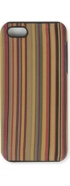 PAUL SMITH Multi-stripe iPhone 5 phone case