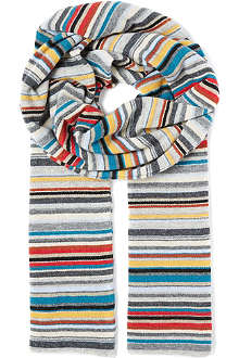 PAUL SMITH Multistripe scarf