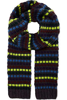 PAUL SMITH Bobble scarf