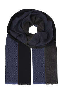 PAUL SMITH Classic striped scarf